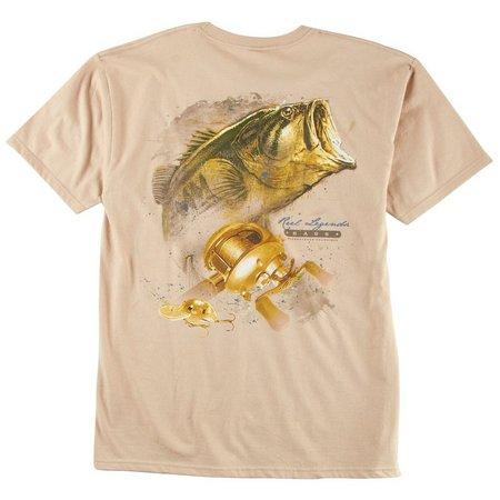 Reel Legends Mens Bass T-Shirt