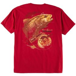 Reel Legends Mens Redfish And Reel T-Shirt