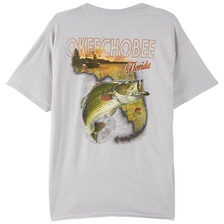 Reel Legends Mens Okeechobee Bass T-Shirt