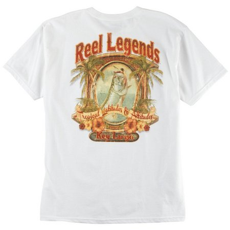 Reel Legends Mens Key Largo T-Shirt