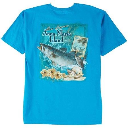 Reel Legends Mens Anna Maria Local T-Shirt
