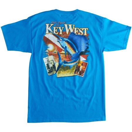 Reel Legends Mens Key West Local T-Shirt
