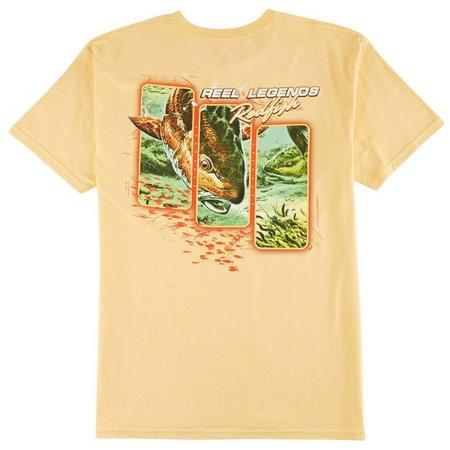 Reel Legends Mens In Face Redfish T-Shirt