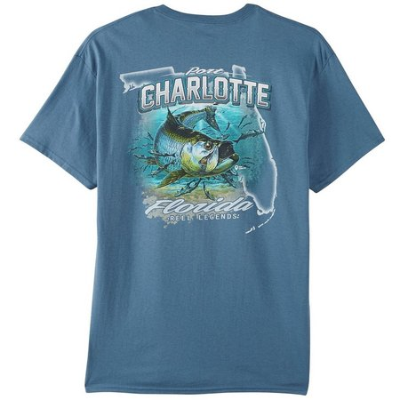 Reel Legends Mens Port Charlotte T-Shirt