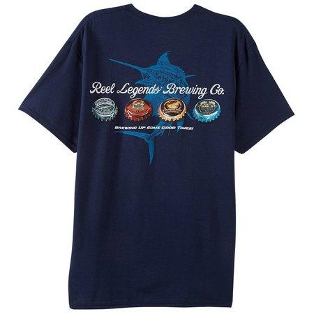 Reel Legends Mens Brewing Co T-Shirt