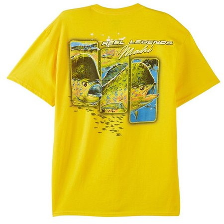 Reel Legends Mens In Your Face Mahi T-Shirt