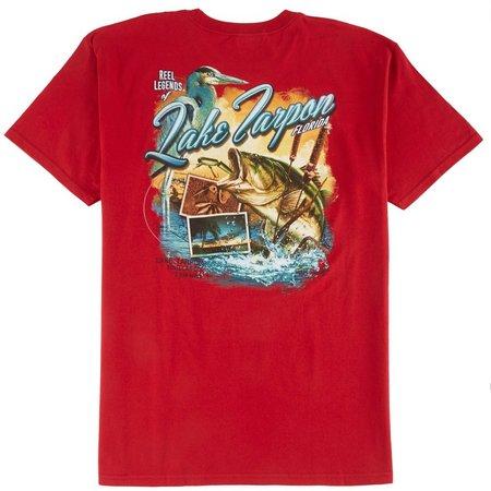Reel Legends Mens Lake Tarpon Florida T-Shirt