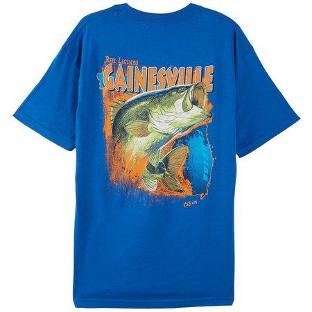 Reel Legends Mens Royal Gainesville T-Shirt