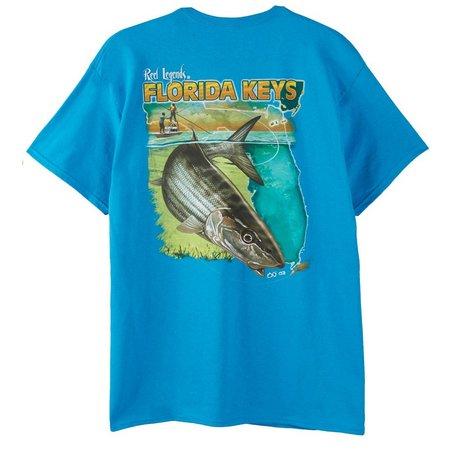 Reel Legends Mens Florida Keys T-Shirt