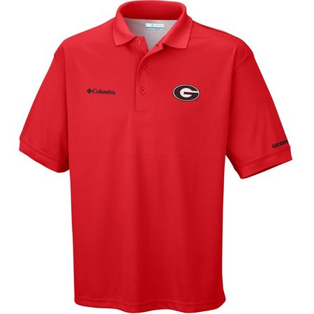 Georgia Bulldogs Mens Perfect Cast Polo Shirt