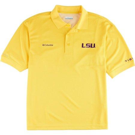 Louisiana State Mens Perfect Cast Polo Shirt