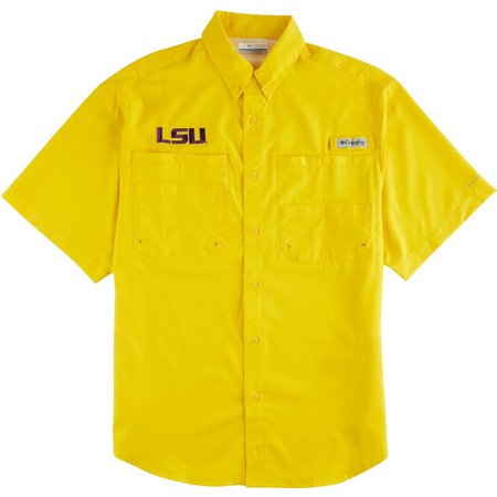 Louisiana State Mens Tamiami Shirt by Columbia