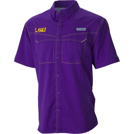 Louisiana State Mens Low Drag Offshore Shirt