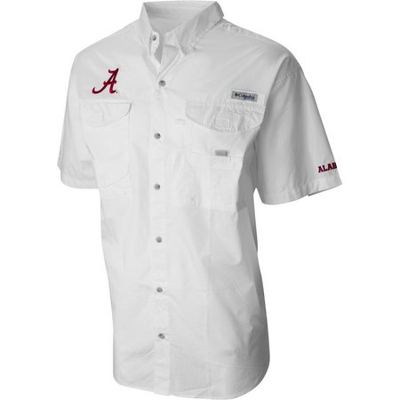 Alabama Mens Bonehead Logo Shirt by Columbia