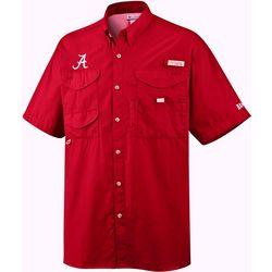 Alabama Mens PFG Bonehead Shirt by Columbia