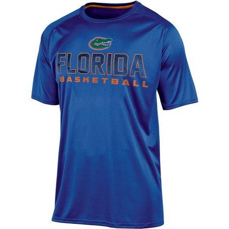 Florida Gators Mens Royal Logo Impact T-Shirt