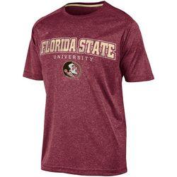 New! Florida State Mens Garnet Heather Jersey T-Shirt