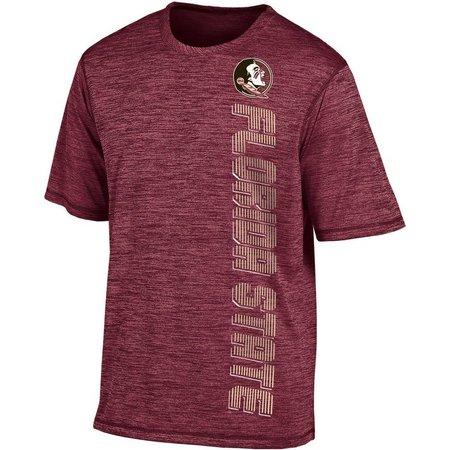 Florida State Mens Garnet Heather Boosted T-Shirt