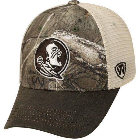 Florida State Mens Real Tree Logger Hat