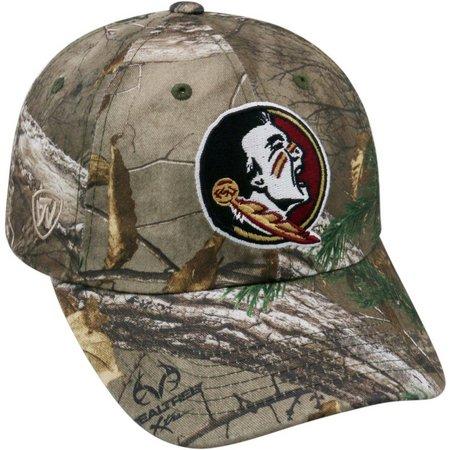 Florida State Mens Crew Camo Hat