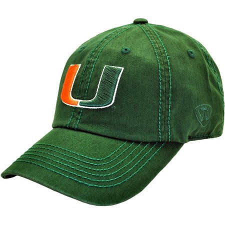 Miami Hurricanes Mens Crew Hat