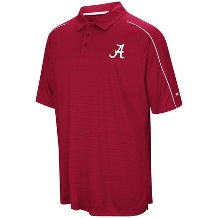 Alabama Crimson Tide Mens Setter Polo Shirt