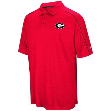 Georgia Bulldogs Mens Setter Polo Shirt