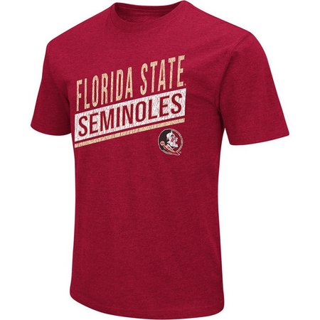 Florida State Mens Dual Blend Distressed T-Shirt