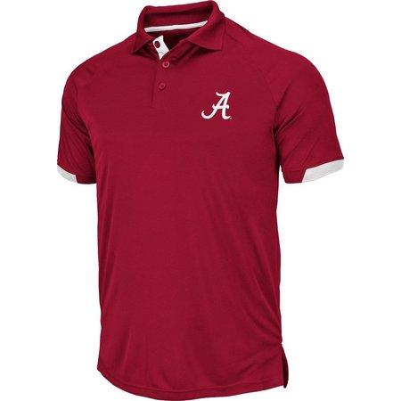 Alabama Mens Clubhouse Polo Shirt