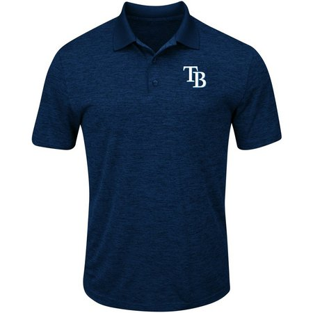 Tampa Bay Rays Mens Hit First Polo Shirt