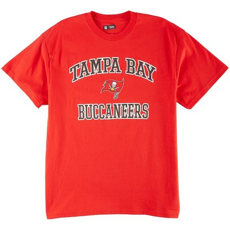 Buccaneers Mens Heart & Soul T-Shirt