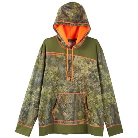 Southern Legends Men Hickory & Oak Pieced Hoodie