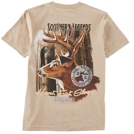 Southern Legends Mens Hunt, Eat, Sleep T-Shirt