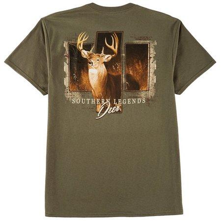 Southern Legends Mens Deer Panel T-Shirt