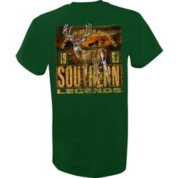 Southern Legends Mens Field Buck T-Shirt