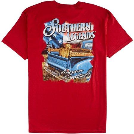 Southern Legends Mens Patriot Pick Up T-Shirt