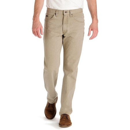 Lee Mens Wheat Regular Fit Jeans
