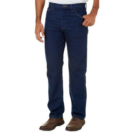 Genuine Wrangler Mens Legendary Gold Regular Fit Jeans
