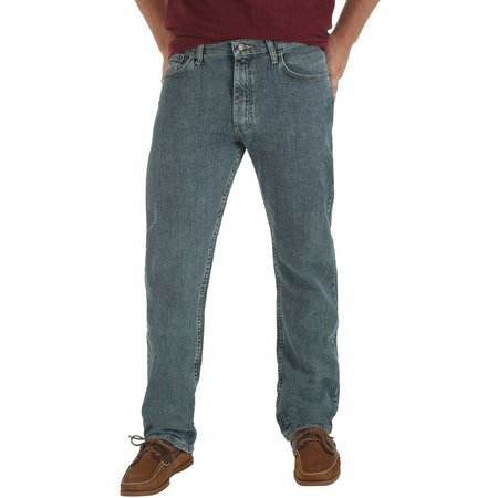 Genuine Wrangler Mens Comfort Regular Fit Jeans