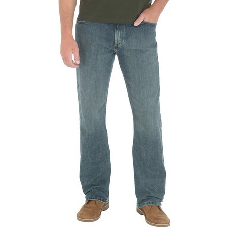 Genuine Wrangler Mens Comfort Straight Fit Jeans