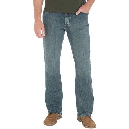 Genuine Wrangler Mens Comfort Straight Fit Jeans