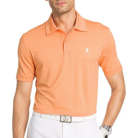 IZOD Golf Mens Cutline Classic Polo Shirt