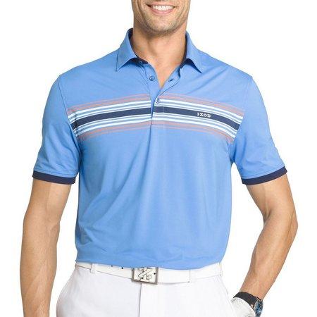 IZOD Mens Marina Stripe Polo Shirt
