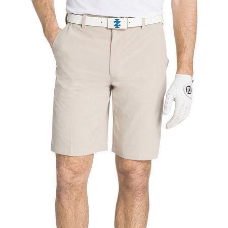 IZOD Golf Mens Flat Front Performance Golf Shorts