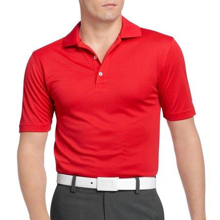 IZOD Golf Grid Performance Polo Shirt