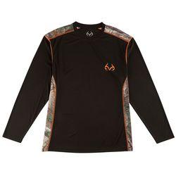 Realtree Mens Black Extreme Hunt T-Shirt