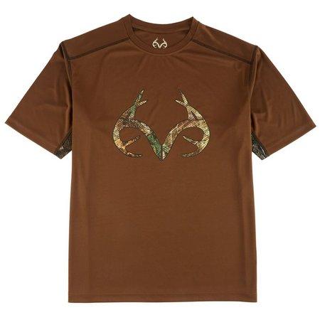 Realtree Mens Meshed Up T-Shirt