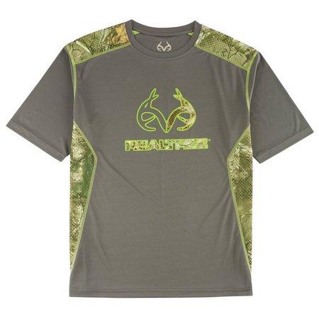 Realtree Mens Hot Mesh T-Shirt