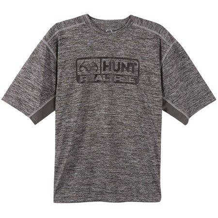 Realtree Mens Space Dye Hunt T-Shirt