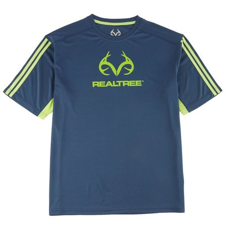 New! Realtree Mens Real Precision Logo T-Shirt